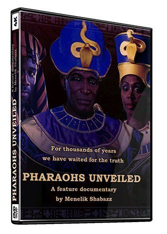 Pharaohs Unveiled DVD Cover
